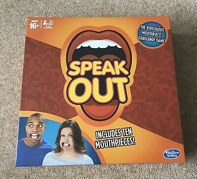 Hilarious 'Speak Out Board Game' Sealed and BNIB