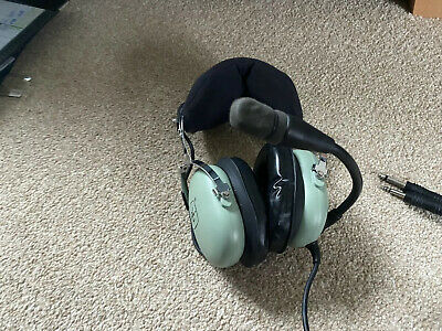 DAVID CLARK H10-13.4 AVIATION HEADSET Excellent Condition