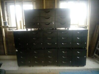 Office drawers filing cabinets