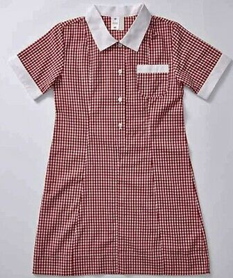 gingham school dress
