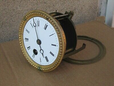 Antique French Mantle Clock Movement  - Working