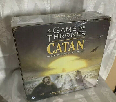 Game of Thrones Catan: Brotherhood of the Watch Board Game (New/Factory Sealed)