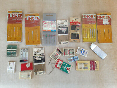 Job Lot Of Sewing Needles, Singer, Milward, Etc
