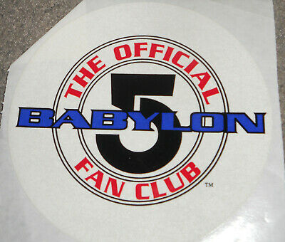 Vintage rare Babylon 5 fan club packet 1996