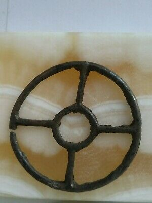 "Ancient Viking bronze pendant amulet ""Sun"" excellent save"