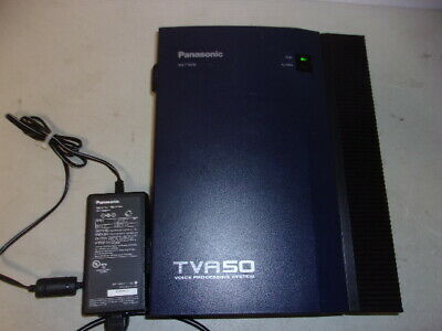 Panasonic Kx-Tva50 V4 Voice Processing System With Lan Card And Power Supply