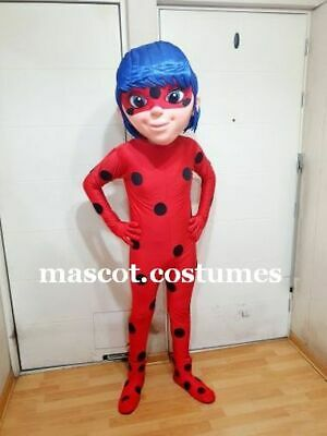 New lady girl Suit Mascot Costume Character Fancy Dress