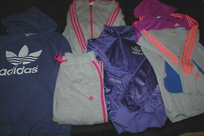 GIRLS ADIDAS BUNDLE AGE 13-14 Years (Tracksuit, Hoodies, Jacket)