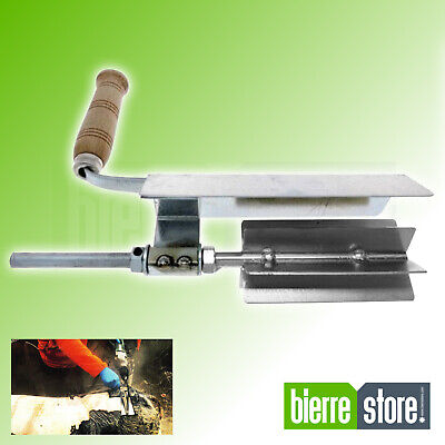 Épluche Porcs pour Perceuse 6 Ailes en Acier Inoxydable Made IN Italy