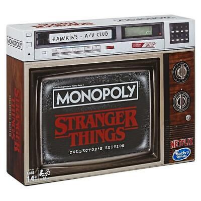 Stranger Things Collector's Edition Monopoly with PRIORITY SHIPPING