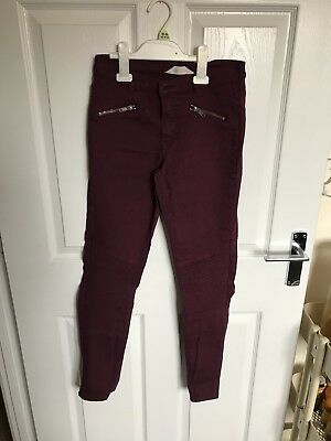 H&M Demin Trousers Girls Age 14yr Eur Size170.
