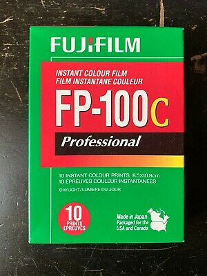 FujiFilm FP-100C ISO 3.5x4.2 in Professional Instant Colour Film [1]