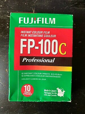 FujiFilm FP-100C ISO 3.5x4.2 in Professional Instant Colour Film [2]