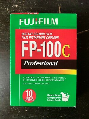 FujiFilm FP-100C ISO 3.5x4.2 in Professional Instant Colour Film [6]