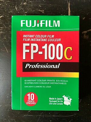 FujiFilm FP-100C ISO 3.5x4.2 in Professional Instant Colour Film [7]
