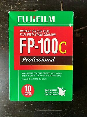 FujiFilm FP-100C ISO 3.5x4.2 in Professional Instant Colour Film [8]