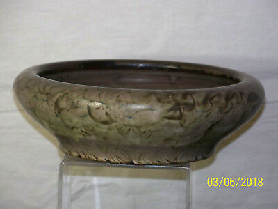 Antique Peters & Reed American Art Pottery Hand Formed Bowl