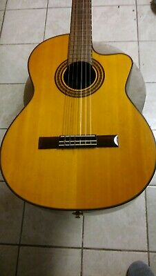 Takamine EG522C Nylon string Classical Acoustic Guitar G-Series TK40 Preamp