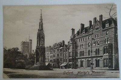 Martyr's Memorial Oxford England Vintage Antiquarian Collectable Postcard.