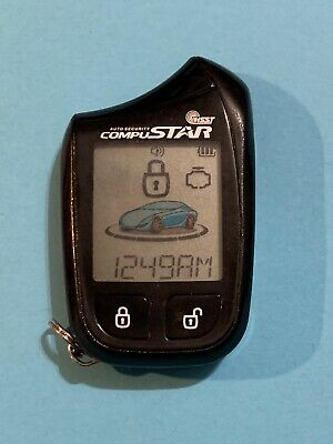 Replacement Shell for Compustar//Magicar 2 Way Remote 2W900FM-R and 2W8000FM-R