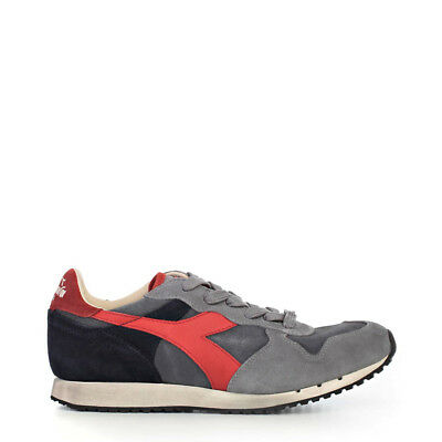 Diadora Heritage Shoes Men Sneakers Blue 94730 BDT TRENDY