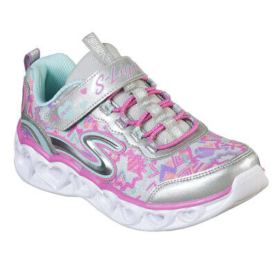 ENERGY LIGHTS BY Skechers Youth Junior Girls Gold Trainers AwcKt