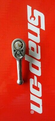 """Snap On Tools 3/8"""" Drive 4"""" Long Stubby Ratchet FK720 Ships Free"""