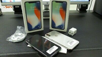Apple iphone X Unlocked GSM MQA52LL/A 64GB 256GB Space Gray Silver phone Face ID