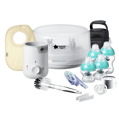 Tommee Tippee All In One Complete Newborn Baby Bottle Feeding Gift Set