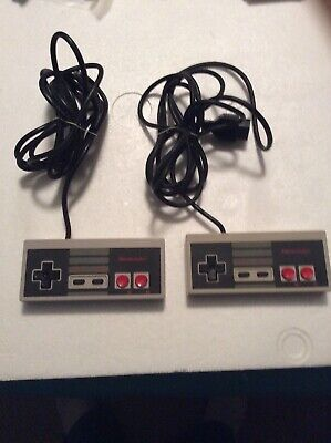 Official Nintendo Nes Controller! ~ Works Great! X2~ Fast Shipping! ~ Authentic!