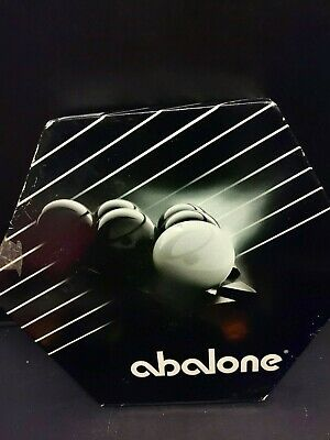 Lot of 2 Abalone Galoob 7360 Game Pieces Replacement Marbles 1-White /& 1-Black