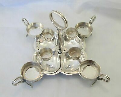 Good Rare Vintage Silver Plated Oyster Dish - Reg No - c1915