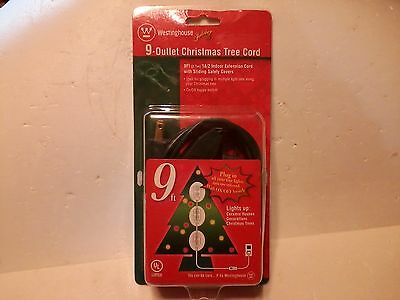 9 Outlet Christmas Tree Cord  Westinghouse