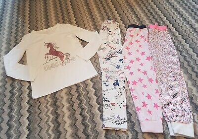 girls next/zara pyjama bundle age 8-9