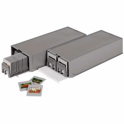 HAMA 1086 Twin Pack of 35mm Universal Slide Magazines in Stackable Boxes