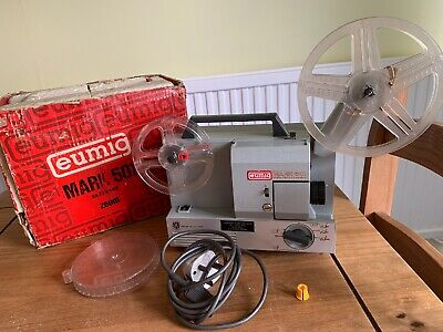 Eumig Mark 501 Super Single Standard 8 Film Projector Vintage