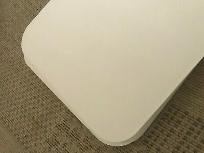 6 SOFT WHITE ROUND CORNER ROUNDED CORNERS 13.5cm x 13.5cm SQUARE MOUNTBOARD