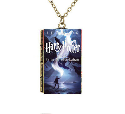 Miniature Harry Potter and the Prisoner of Azkaba TINY Book Pendant Necklace