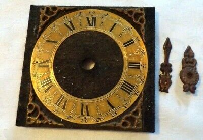 Vintage Dutch Wall Clock FACE & HANDS, Spares/Repair