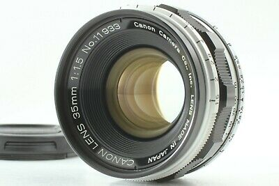 [MINT] Canon 35mm f/1.5 MF L Lens for L39 Leica Screw Mount LTM from Japan #784