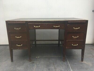 Large Antique Desk by Cooke's of Finsbury