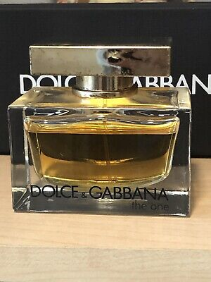 Dolce & Gabbana The One Women's Perfume Eau De Parfum 2.5oz Slightly Used