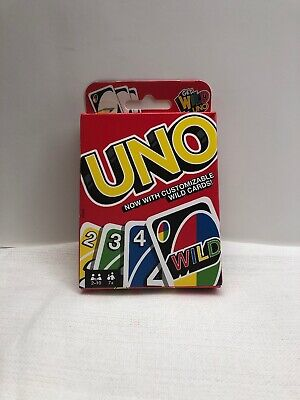Uno Card Wild Game Classic Fun Family Playing Cards Deck