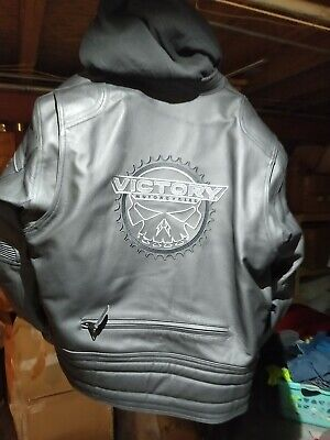 Victory Leather Magnum Jacket Size 2XL