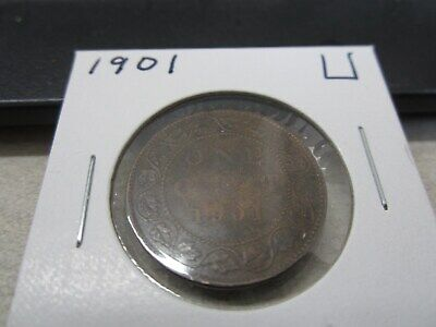 1901 - Canada Penny - High Grade, Nice Canadian one cent coin