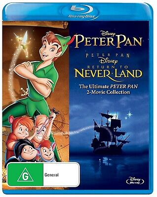 Disney: Peter Pan 2-Movie Collection [Blu-Ray]