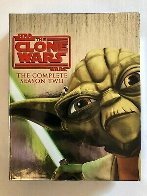 Star Wars The Clone Wars The Complete Season Two Blu-Ray (2010)