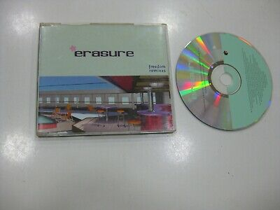 Erasure CD Single Great Britain Freedom Remixes 2000