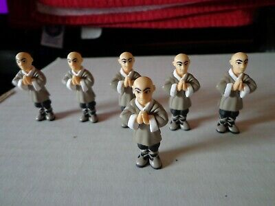 2004 Micro Icons Series 1 Kung Fu #4 Reynold Magnetic Feet Action Figure