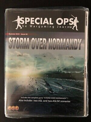 MMP Special Ops 6 with Storm Over Normandy - New in Shrink, Ding & Dent